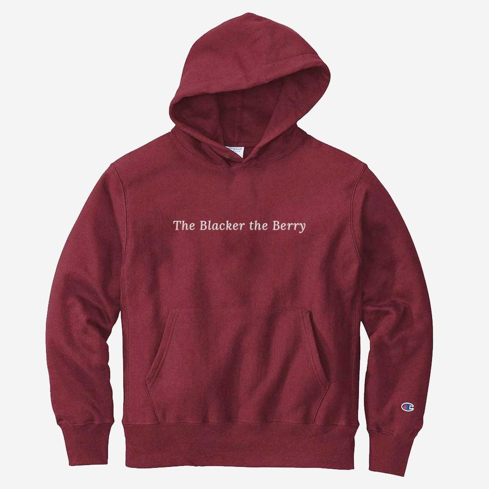 TBTB hoodie (Maroon/White)