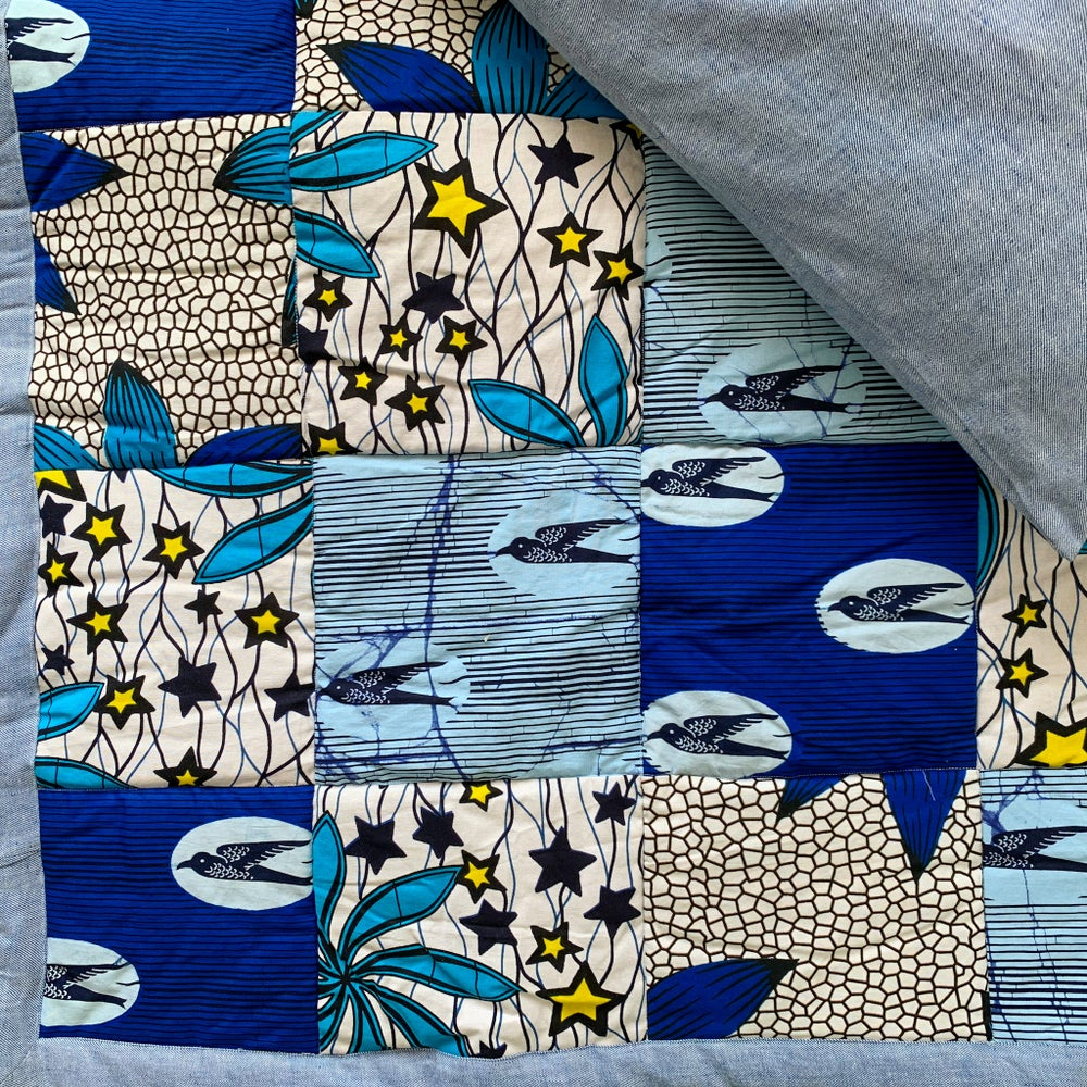 Image of Quilts — The Blues