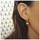 Image 2 of Babushka handmade earrings