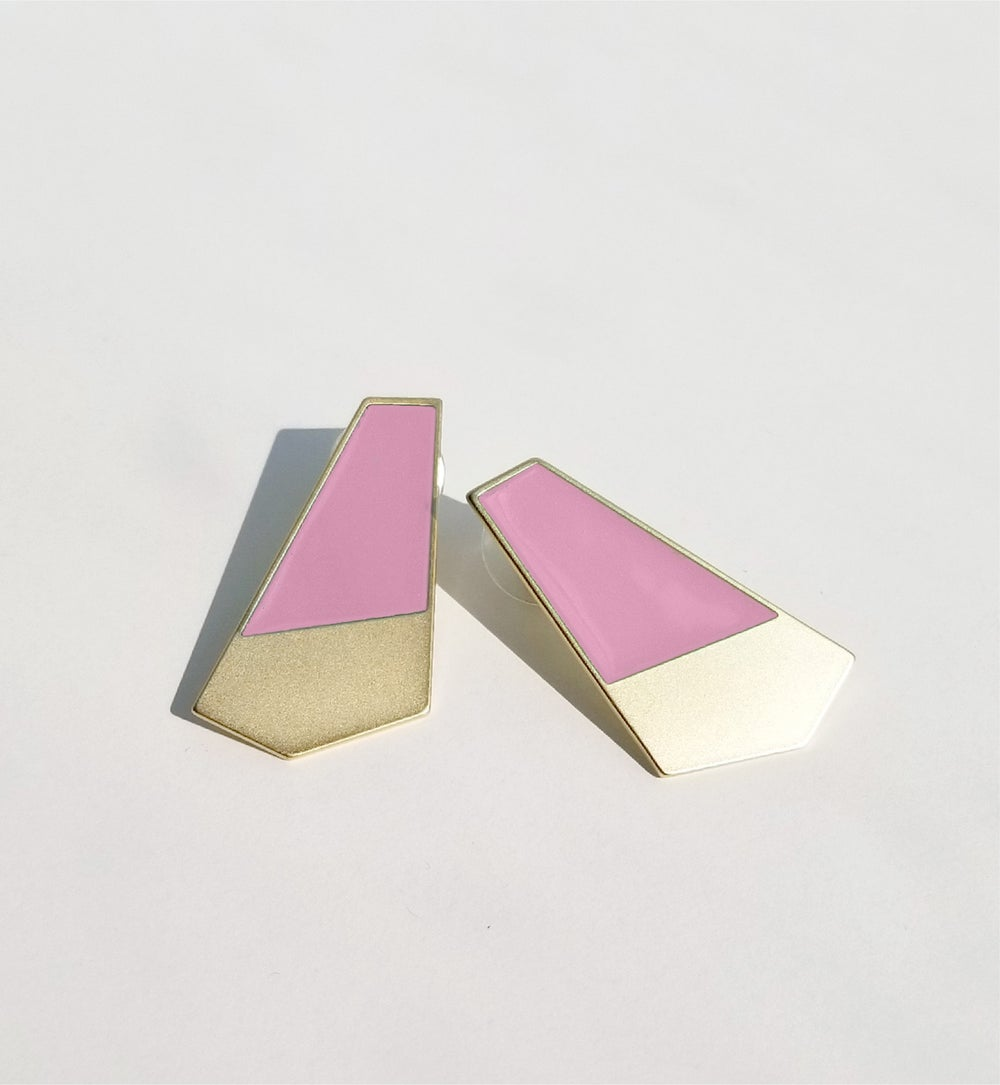 Turi Earrings • Stainless steel • Silver • New Colors