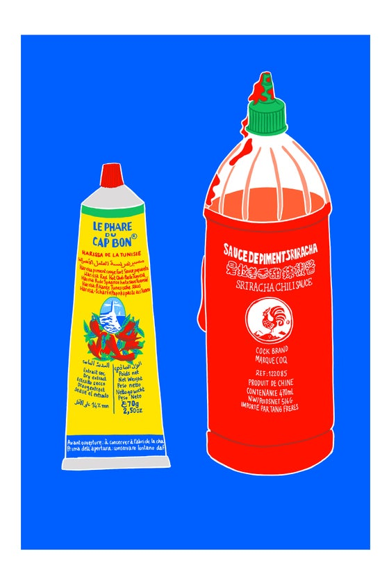Image of Harissa ou Sriracha?