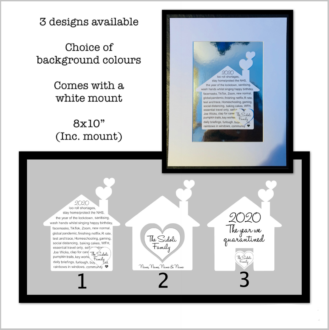Image of NEW - personalised house gift