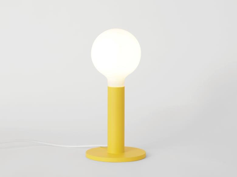 Image of Tischleuchte gelb