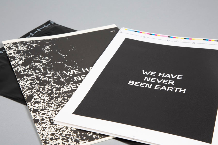 We Have Never Been Earth by Tomas Hruza and Andrea Pruchova