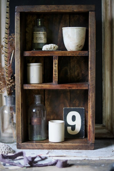 Image of Rustic Wooden Cubby I