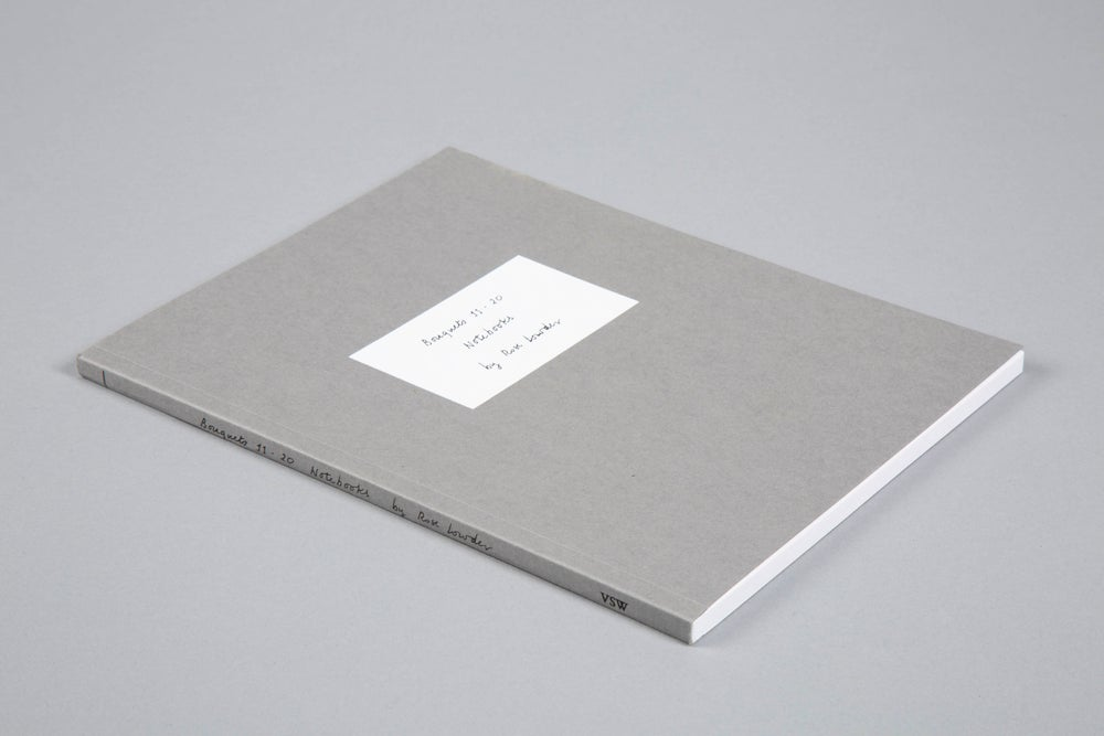 Bouquets 11 - 20 Notebooks by Rose Lowder