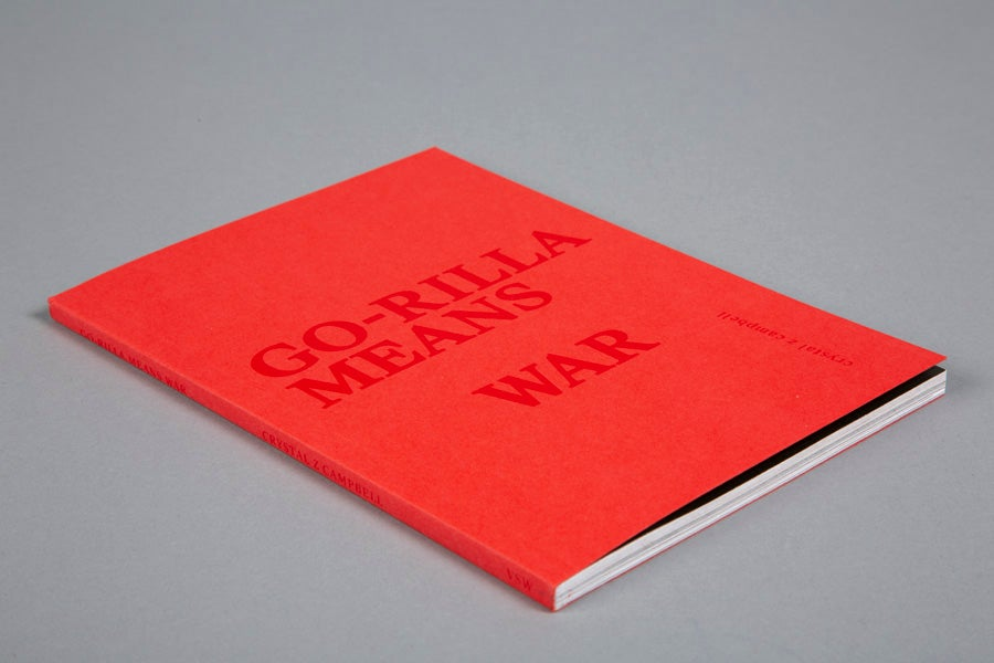 Go-Rilla Means War - Crystal Z Campbell