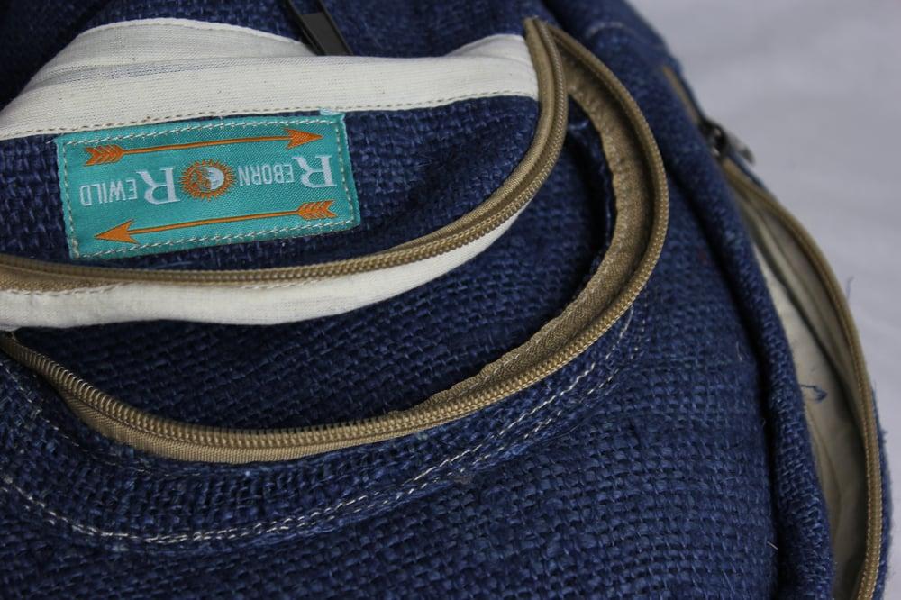 Harley - Pure Hemp Mini Backpack | 100% Vegan | Eco Friendly | Handmade | Himalayan Hemp