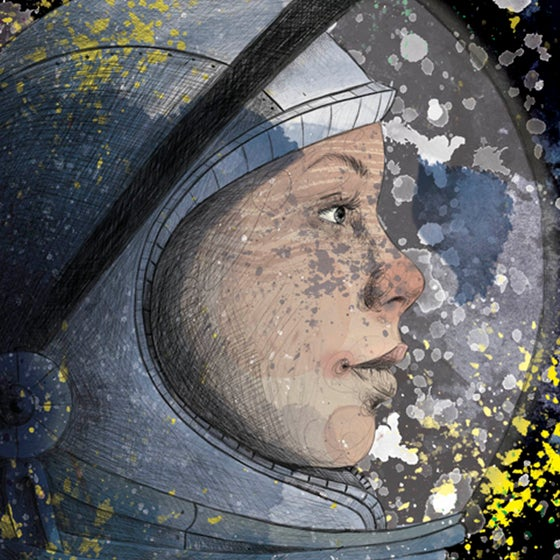 Image of Space Girl