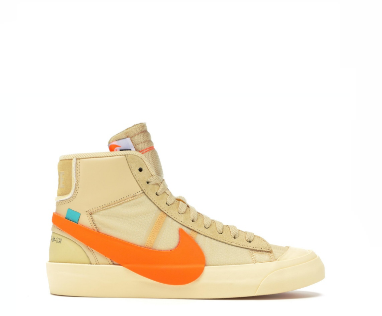 Image of NIKE X OFF-WHITE THE 10 BLAZER MID ALL HALLOWS EVE AA3832-700