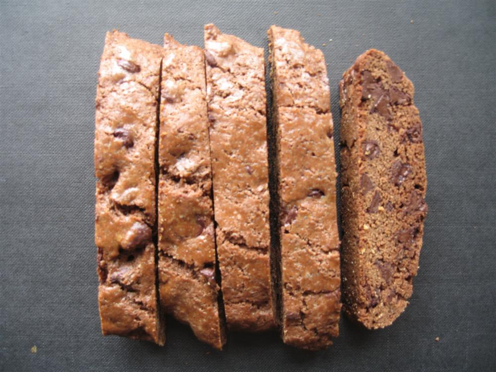 Image of Chocolate Biscotti with Chocolate Chips