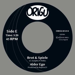 """Image of OUT NOW 7"""" ALDER EGO - ROHDIAMANT B/W BROT & SPIELE 7"""" (100 Copies only!)"""