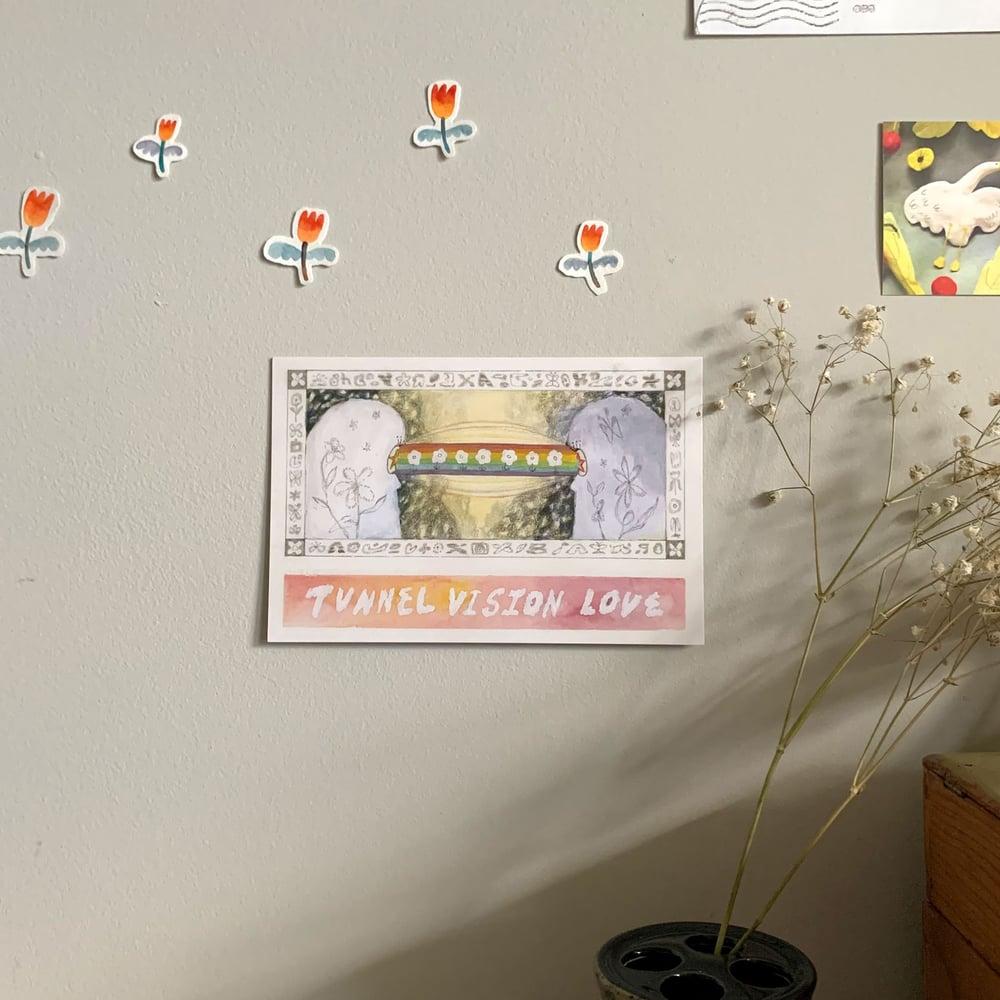 Tunnel Vision Love (print)