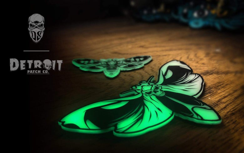 Image of DPC + SKINZ Death Moth Set (1 Per Customer)