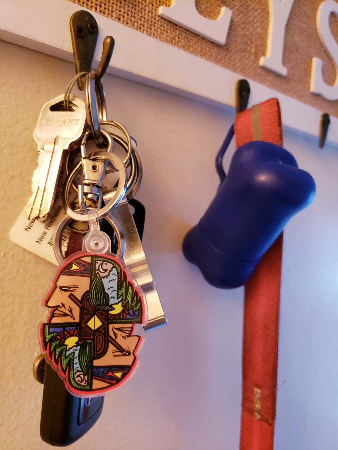 Image of We See We Keychain
