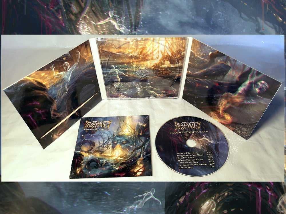 Image of PROFANITY - Fragments of Solace [CD digi-pack] pre-order -> shipping starts 11/16/2020