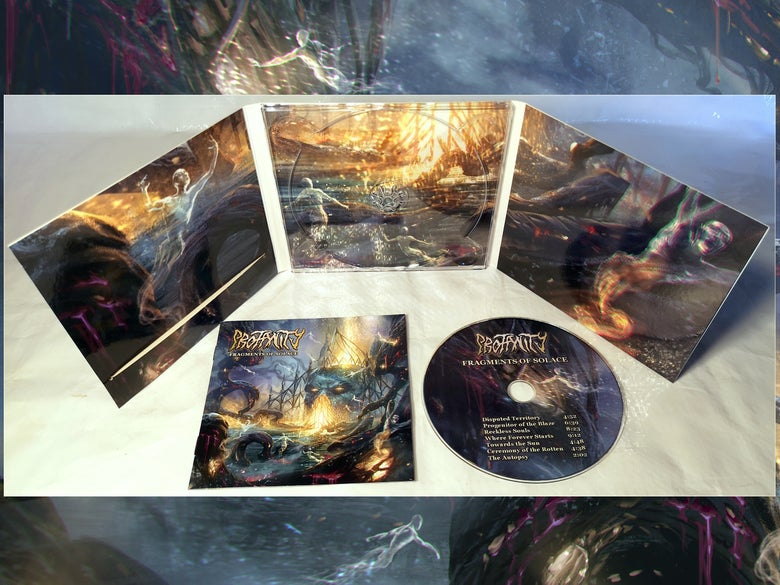 Image of PROFANITY - Fragments of Solace [CD digi-pack]