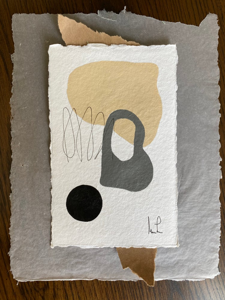 Image of ML• Shape Collection on Handmade Paper and Vellum Paper 3