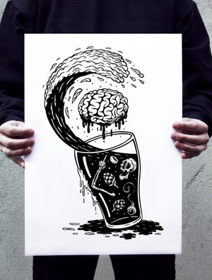 Image of Stop thinking Start drinking