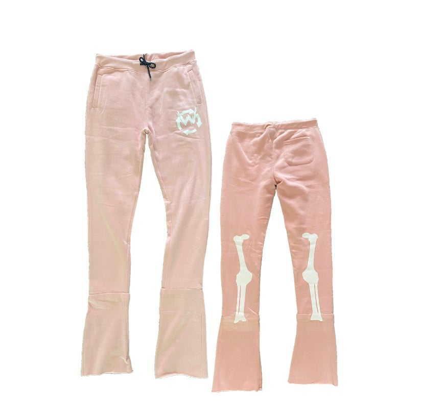 Image of Walk of death stacked sweat pants