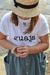 Camiseta · guaje   guaja · [ bebe   niño   adulto ]