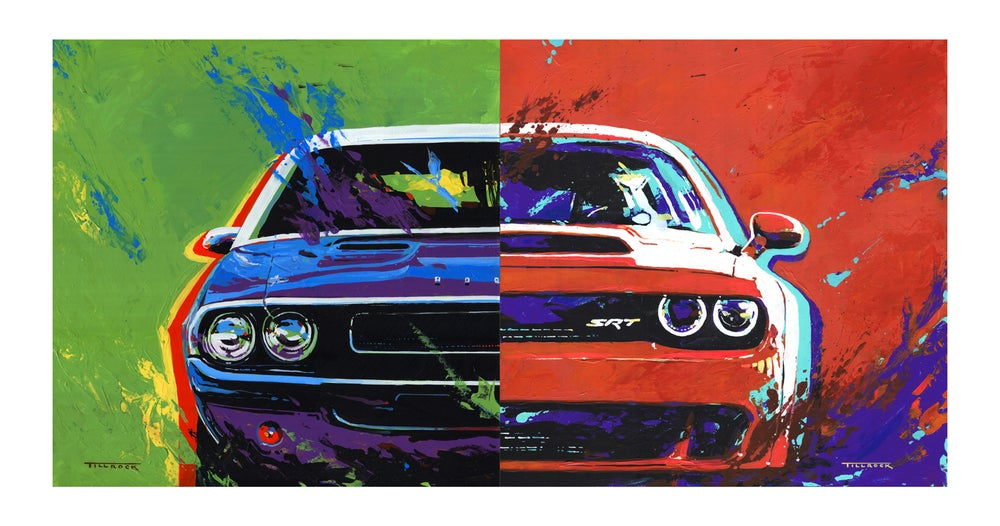 """Image of """"Challengers"""" (Old & New)  13""""x19"""" Painting Print"""