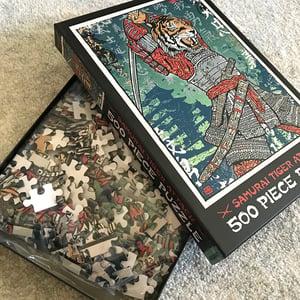 Image of Samurai Tiger 500 Piece Puzzle