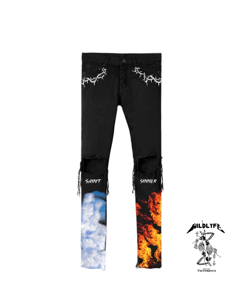 Image of Saint and sinner denim jeans