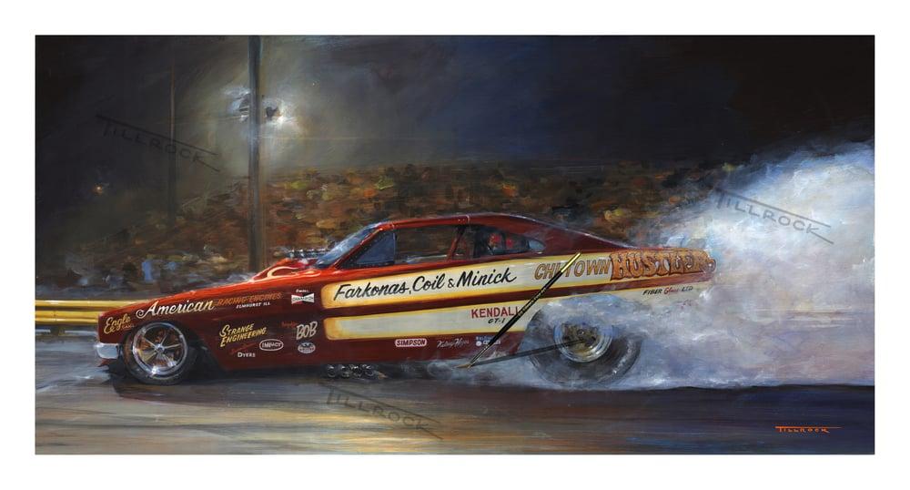 "Image of Chi Town Hustler Painting 13""x19"" Print"