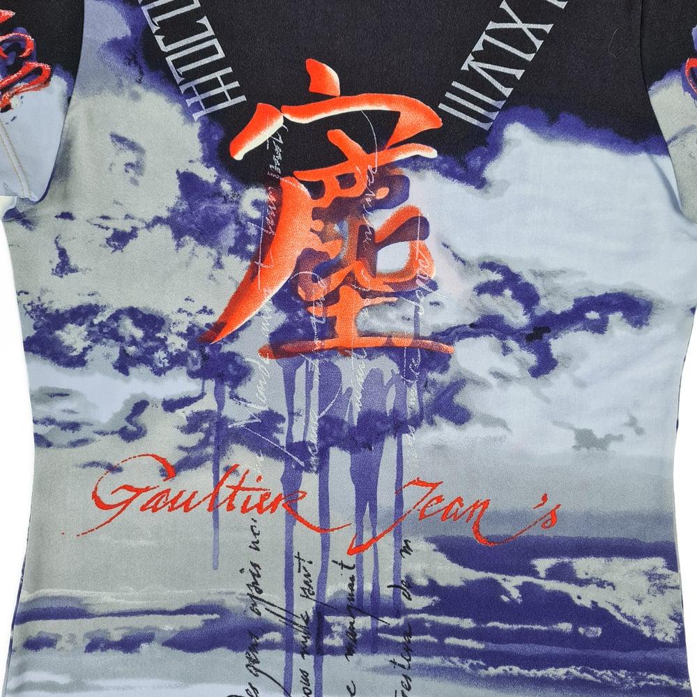 Image of Jean Paul Gaultier Script T shirt