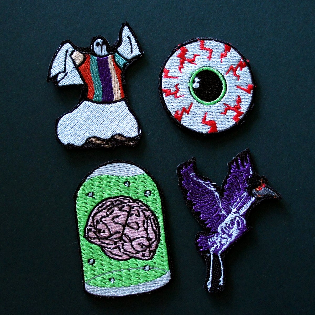 Four & Melrose Halloween Collab Iron-On Patches