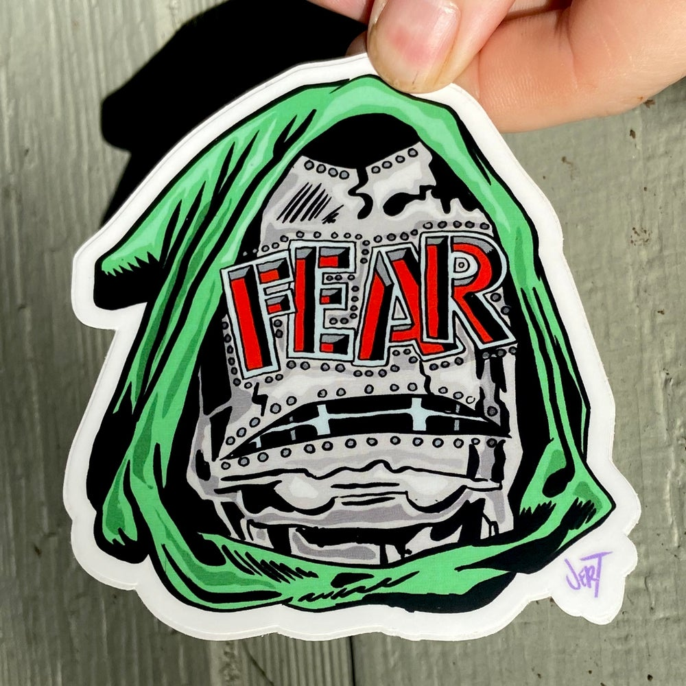 Image of DOOM SCROLL SLAP- sticker
