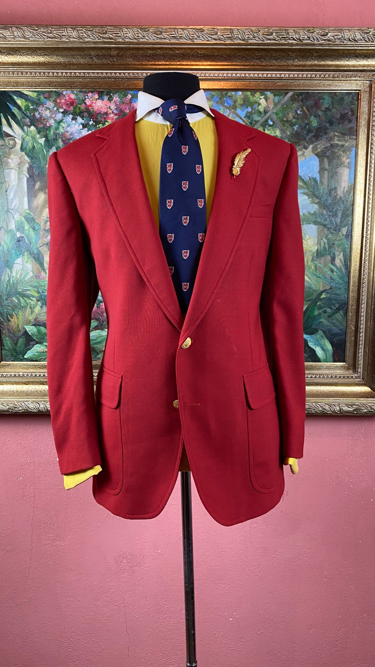 Image of VTG Red Blazer