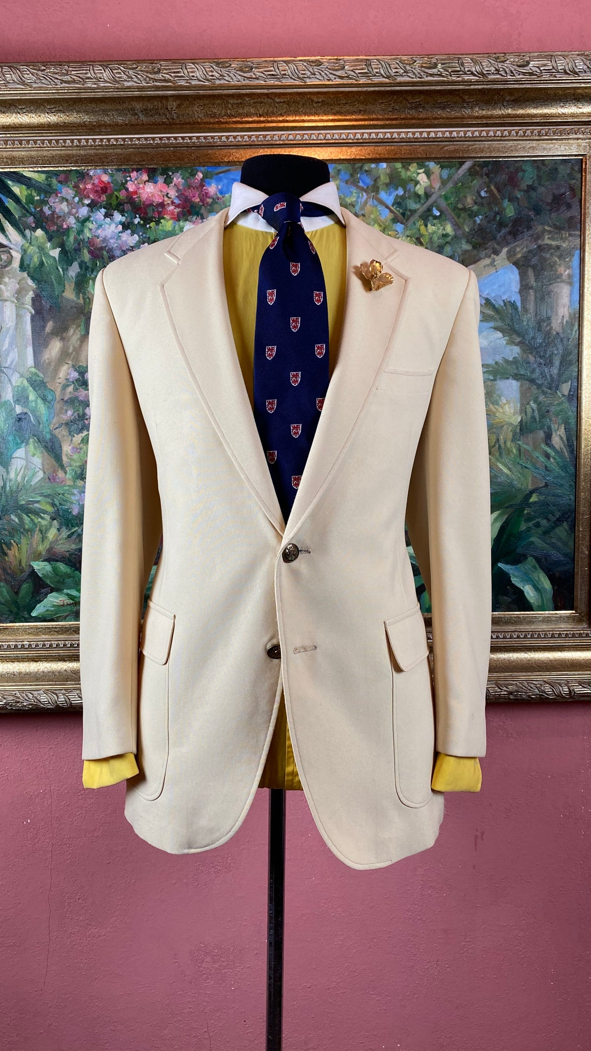 Image of VTG Cream Blazer