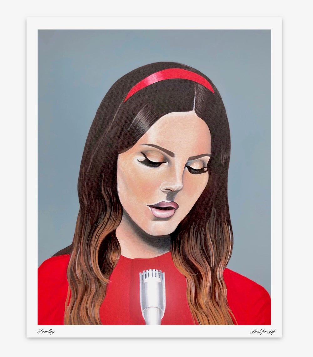 Image of Lust For Life Limited Edition Poster Print