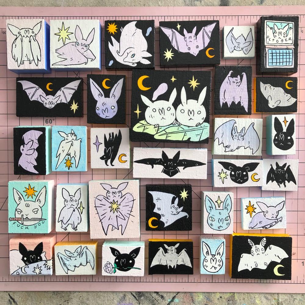 Image of Bat Paintings