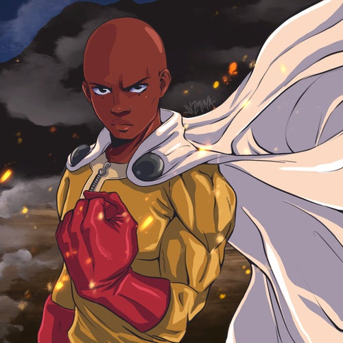 """Image of """"One Punch Man"""" Phone Case"""