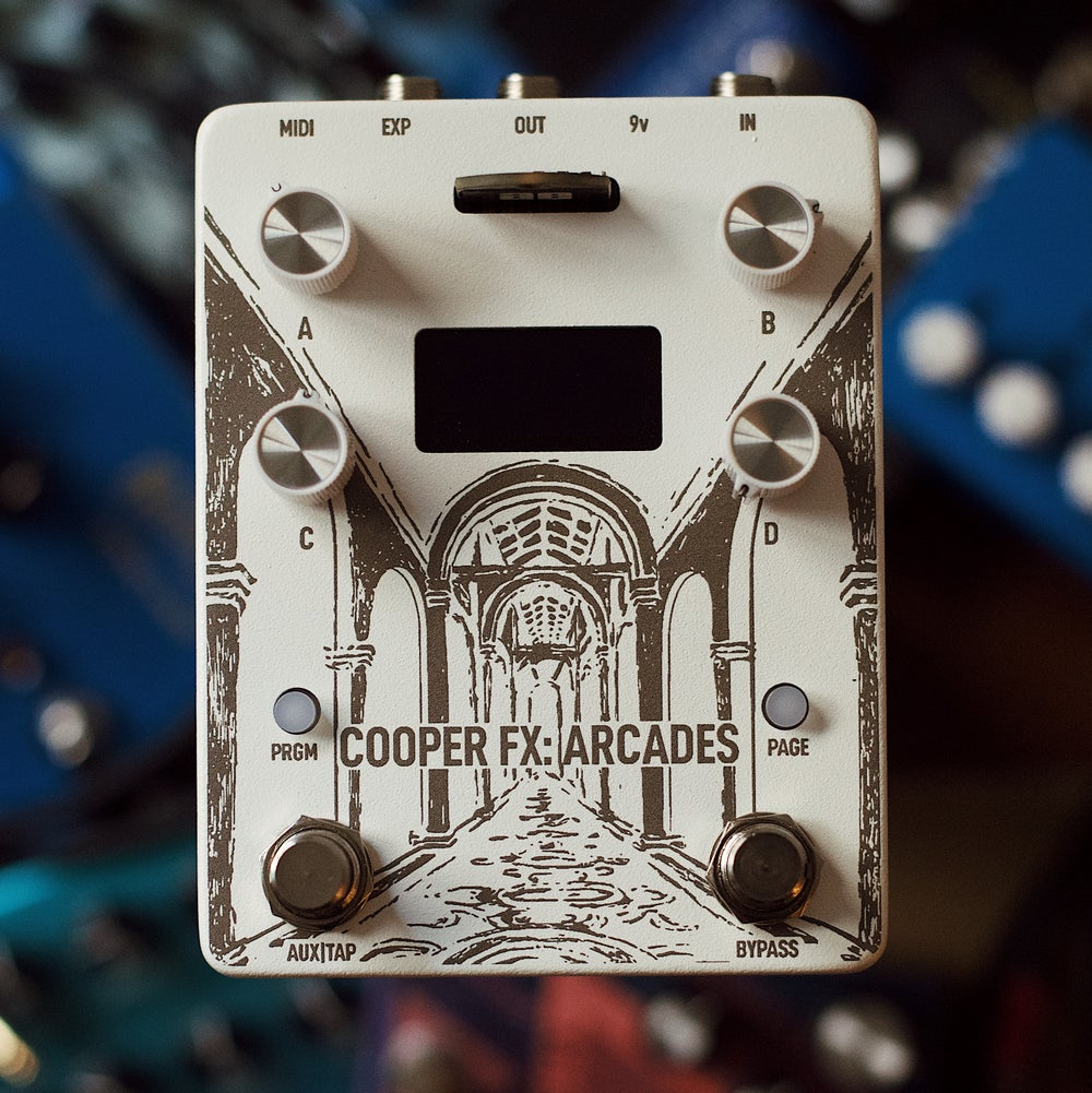 Image of CooperFX Snow White Arcades + Ambient Endeavors Card