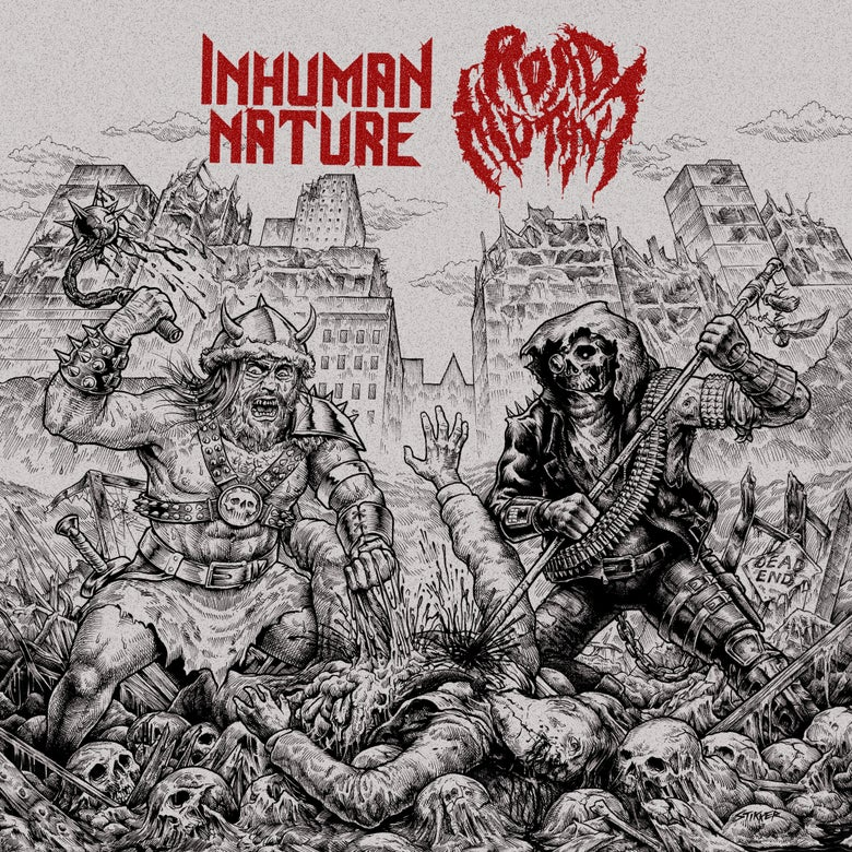 Image of NFR070 - Road Mutant / Inhuman Nature Split 7""