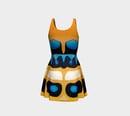 Image 3 of Poecilocoris donovani Skater Dress
