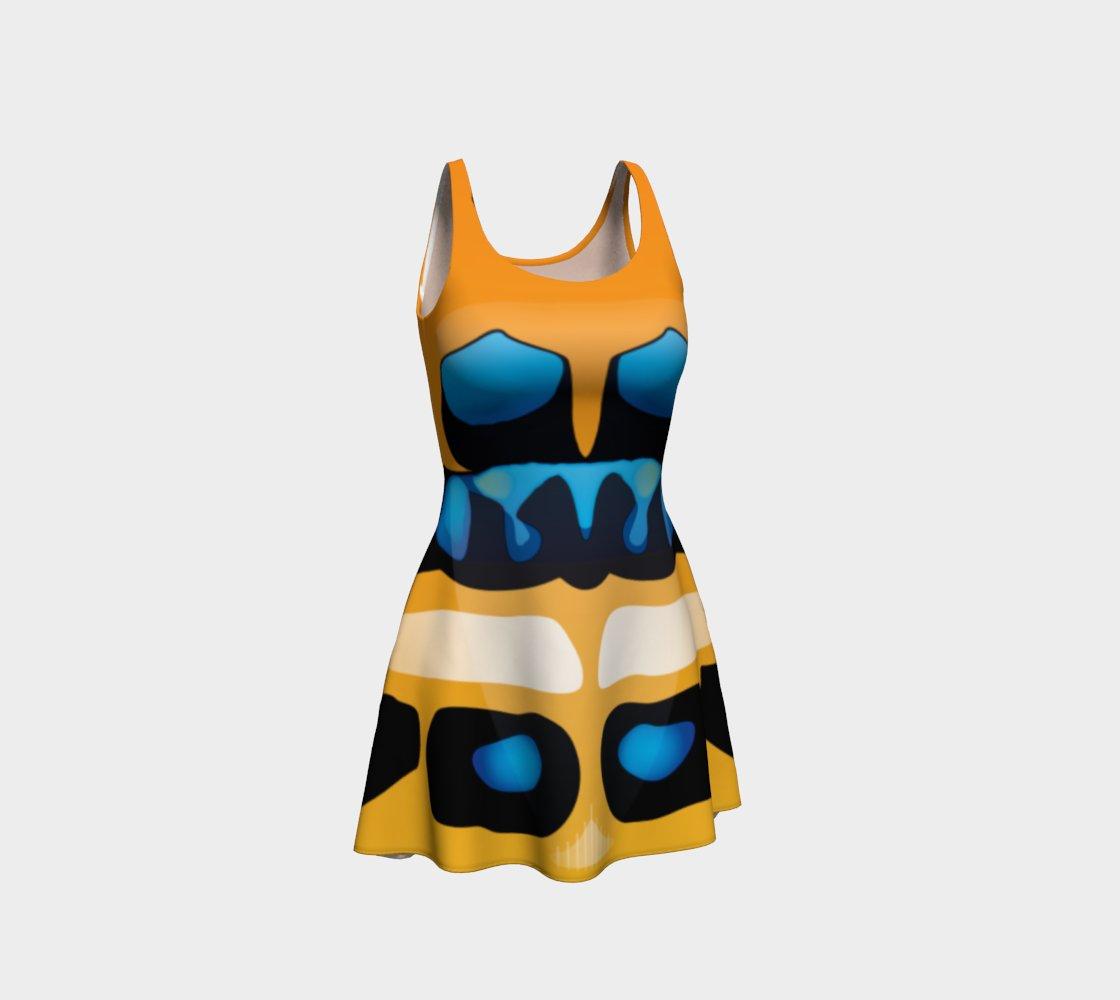 Image of Poecilocoris donovani Skater Dress