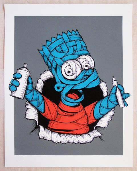 Image of Otto Schade - Bart Ribboned nightmare