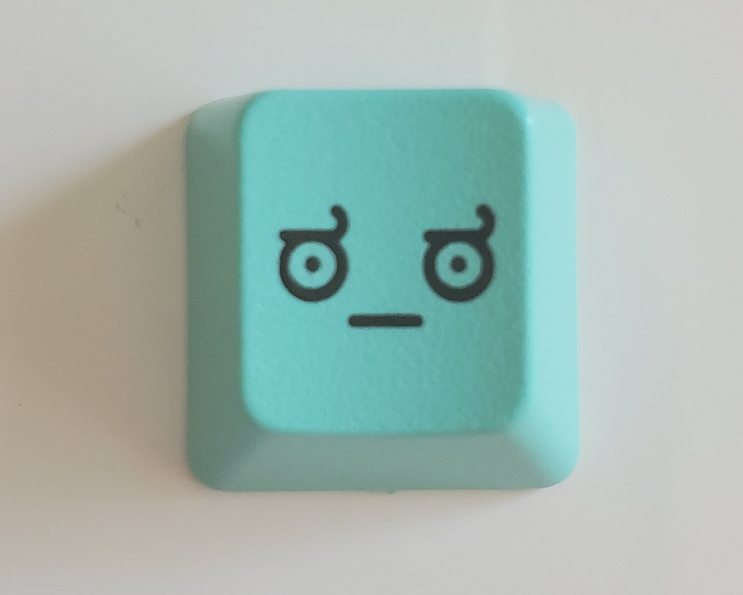 Image of Turquoise LOD(Look of Disapproval) Keycap