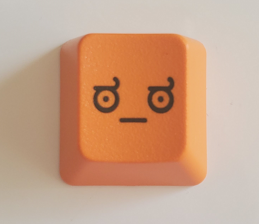 Image of Pumpkin LOD(Look of Disapproval) Keycap