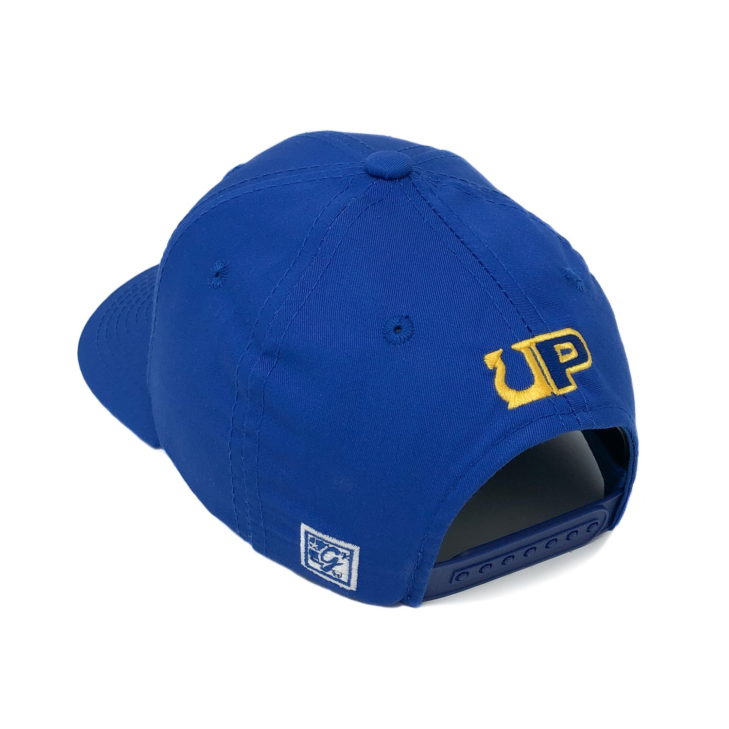Image of UP / THE GAME HAT 07 - SURF - Royal/Gold