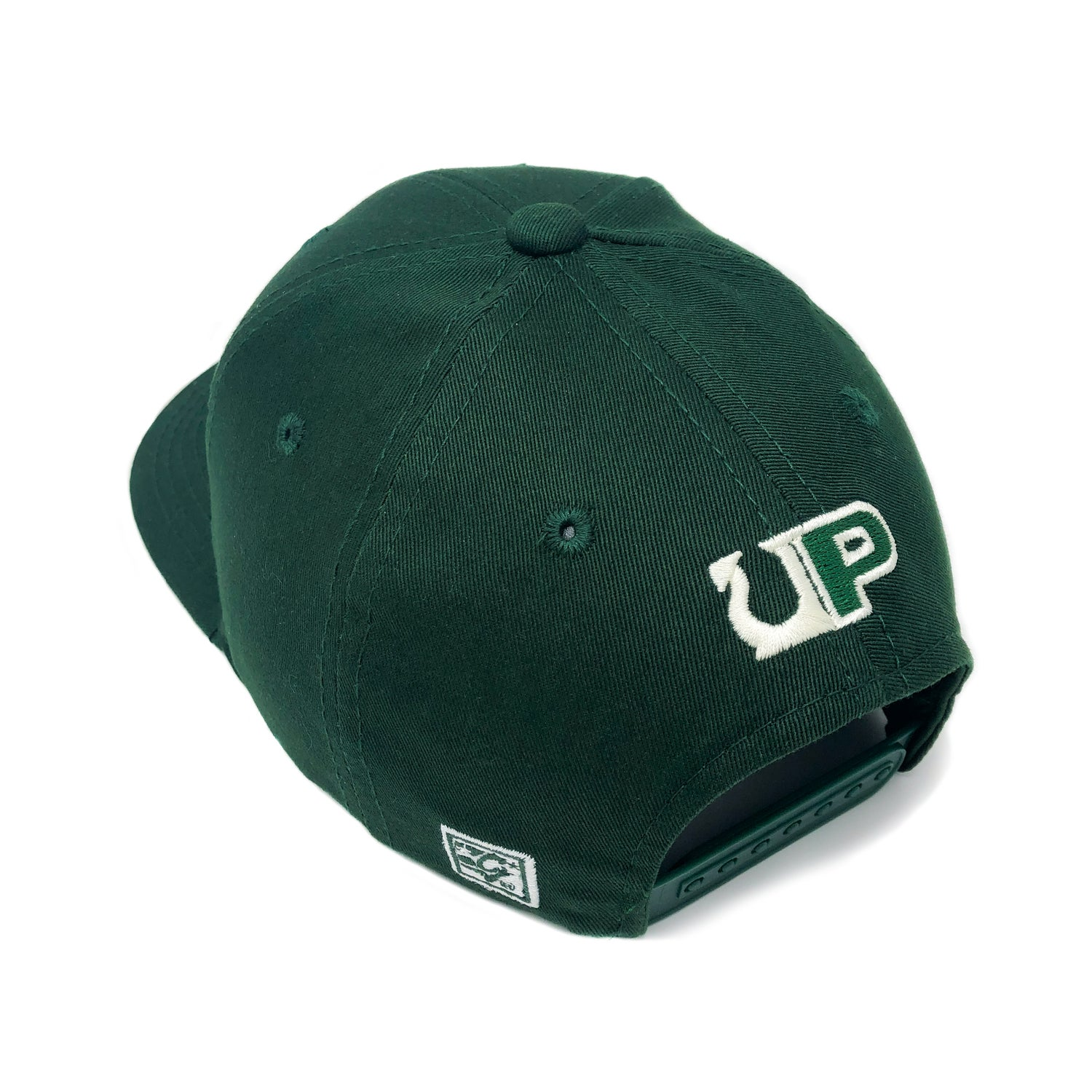 Image of UP / THE GAME HAT - HIKE - Dark Green/Ivory
