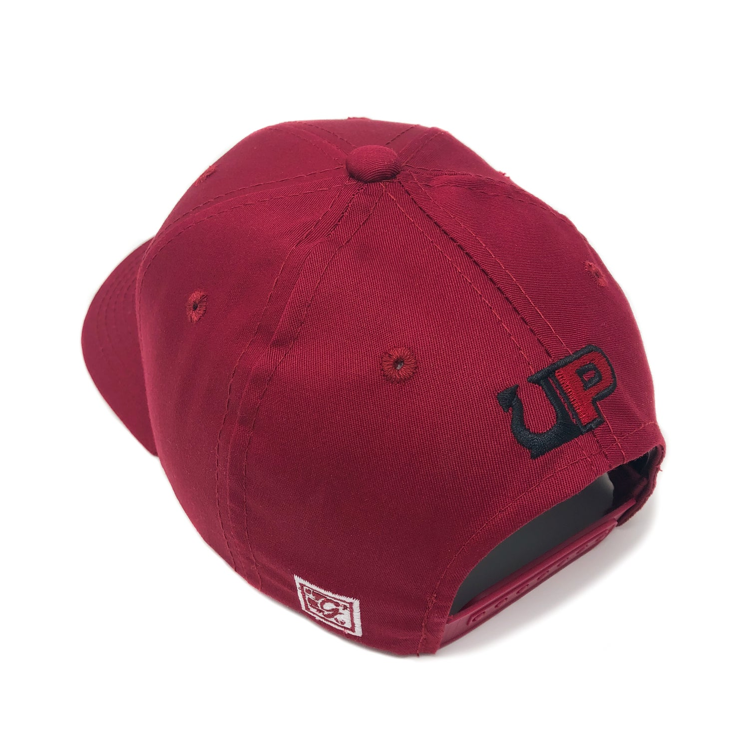 Image of UP / THE GAME HAT - CAMP - Scarlett/Black