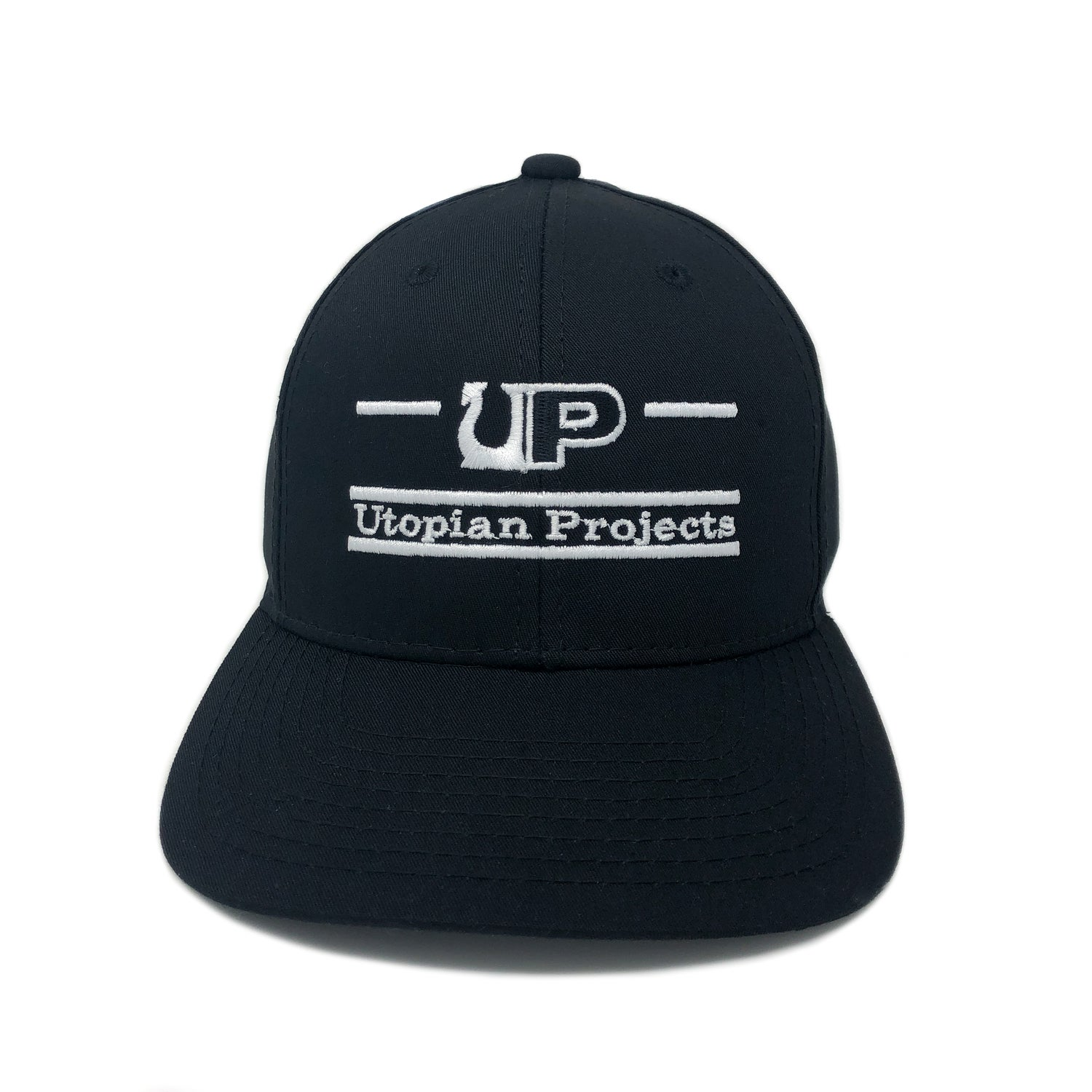 Image of UP / THE GAME HAT - UTOPIAN PROJECTS - Black/White