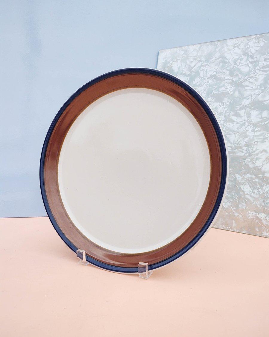 """Image of 12.5"""" Round Ceramic Stoneware Platter by Mikasa"""