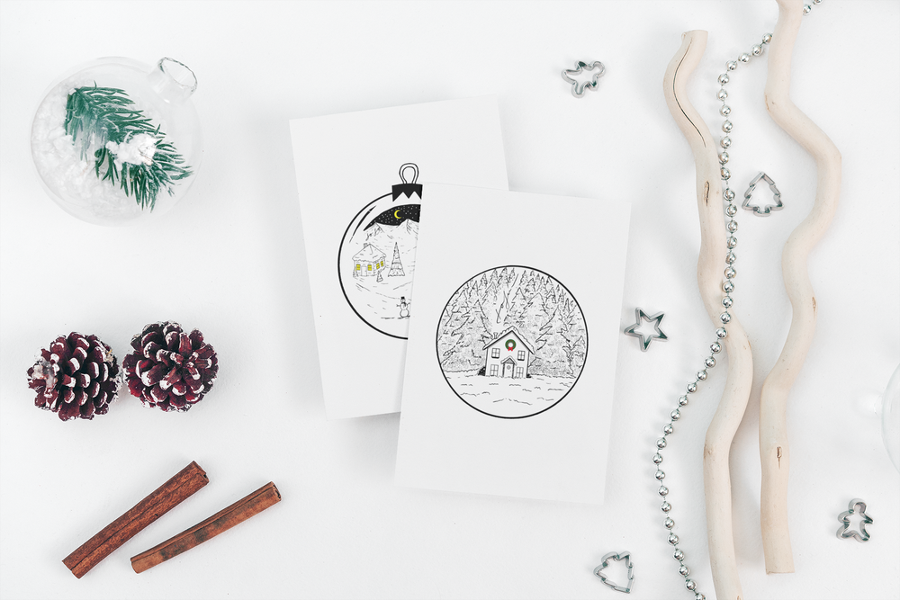 Image of Holiday Greeting Card Set